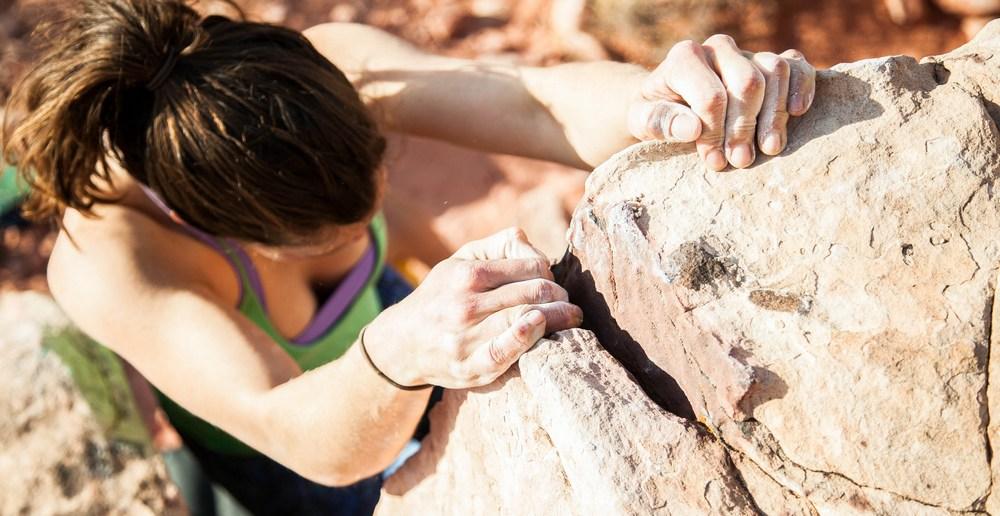 Climb a lot rock
