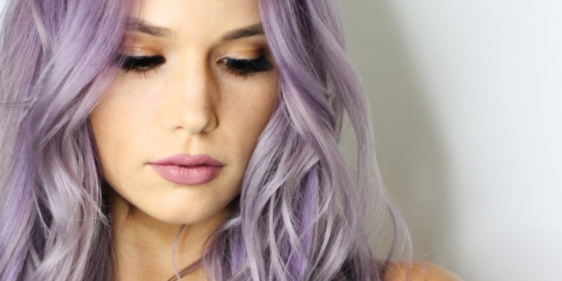 Purple Hair Tutorials (Simple Step by Step)